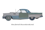 18The Ford Thunderbird